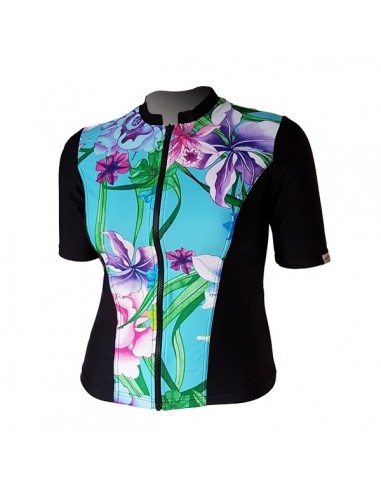 Slimline Hi-Neck, Elbow Sleeve - Water Garden
