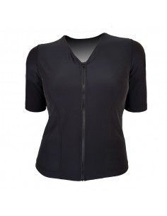 Slimline V Neck Original, Elbow Sleeve - Black