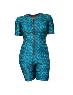One-Piece Swimwear in Teal...